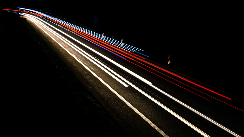 What would happen if you drove your car close to the speed of light and turned on the headlights